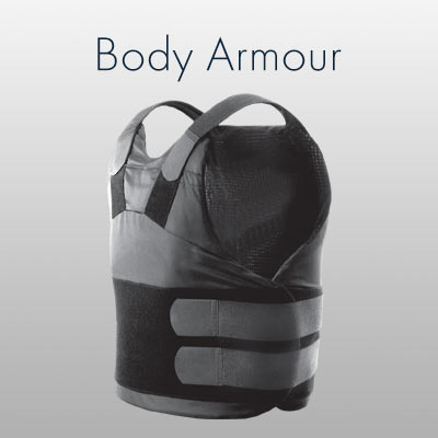 Body armour vests.